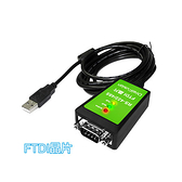 【中將3C】伽利略 USB to RS-422/485線-FTDI 1.8m (USB422485FT)