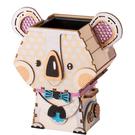 《 Robotime 》3D木製拼圖 - FT732 盆栽裝飾 無尾熊╭★ JOYBUS玩具百貨