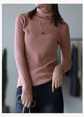 顯瘦堆堆領針織衫毛衣五色可選/設計家Y10839