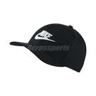 Nike 帽子 Classic 99 Cap Swoosh Flex 男女款 全封帽 棒球帽 黑白 黑 白 【PUMP306】 891279-010