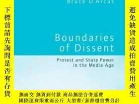 二手書博民逛書店Boundaries罕見Of DissentY256260 Bruce D'arcus Rou