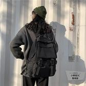 大容量背包男書包女韓版學生百搭後背包雙肩包【小柠檬3C】