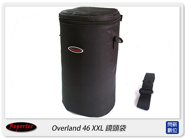 【免運費】Reporter Overland 46 XXL 長鏡頭 專用套筒/ 鏡頭套 / 鏡頭袋(TAMRON 150-600mm可)
