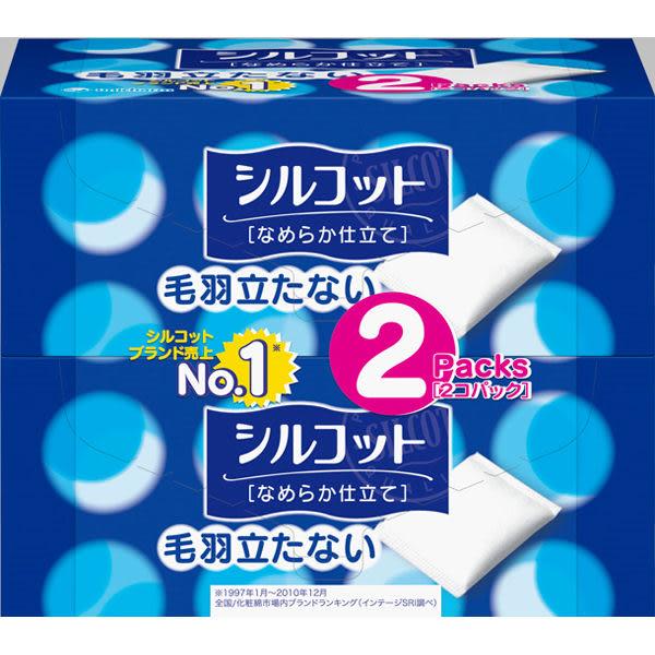 日本【絲花】化妝棉 80片* 2盒入