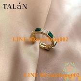 復古個性綠松石蛇形戒指女食指戒輕奢時尚指環【奇妙商鋪】