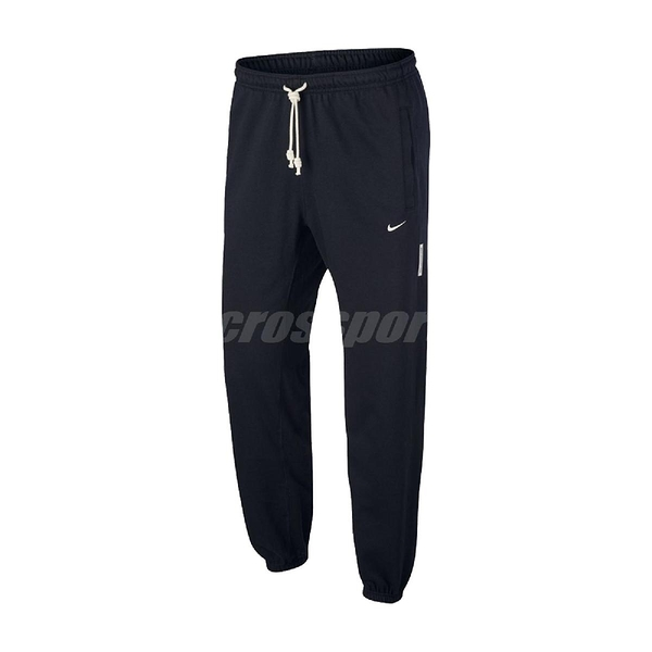 Nike 長褲 Dri-FIT Standard Issue Basketball Trousers 黑 白 男款 籃球 專業 運動休閒【ACS】 CK6366-010