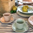 【義大利Tognana】FAVOLA 咖啡杯組200cc (下午茶組/ 杯具/ 翡翠綠)