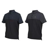 FIRESTAR 男彈性剪接短袖POLO衫(反光 涼感 短袖上衣 高爾夫 網球 羽球≡體院≡ D0553
