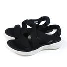 SKECHERS GOWALK Sandals 涼鞋 女鞋 黑色 140027BKW no339