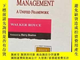 二手書博民逛書店Software罕見Project Management: A Unified FrameworkY44365