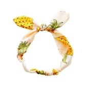復古風發飾發帶流行頭飾品珍珠蝴蝶結發箍