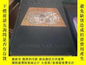 二手書博民逛書店罕見1921年版本罕見精裝插圖版 The story of mankind 人類的故事 Hendrik Wille