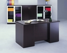 HAED-505 木製辦公桌 5尺主管桌 雙邊抽屜設計 無側桌 中班桌