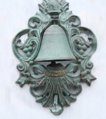 協貿國際復古貴族徽標手按門鈴1入