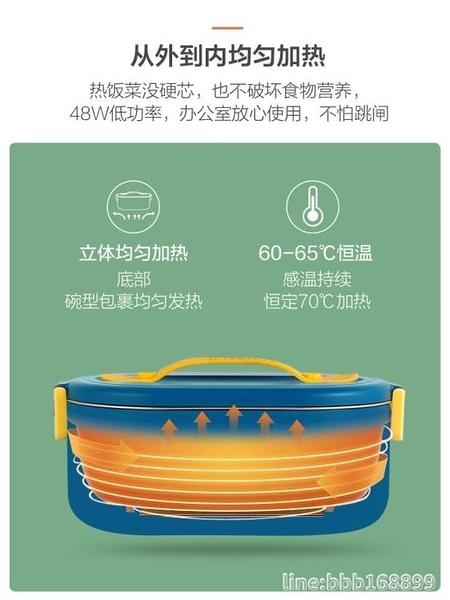 保温饭盒 加熱飯盒可插電自熱保溫便當盒便攜式免注水蒸煮熱飯菜神器上班族 城市科技