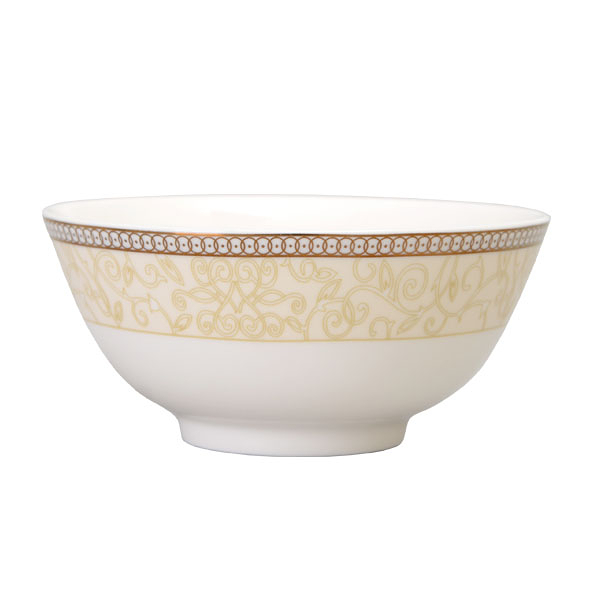 【Luzerne】陸升瓷器 Splendour Gold 11.5cm 飯碗 /CW1601012