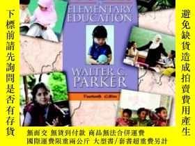 二手書博民逛書店Social罕見Studies In Elementary Ed