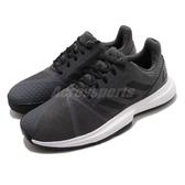 adidas 網球鞋 CourtJam Bounce M 灰 黑 男鞋 運動鞋 【PUMP306】 FV2764