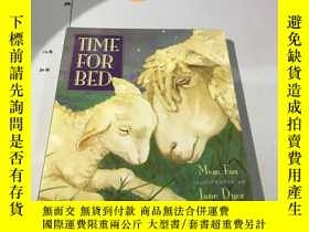 二手書博民逛書店英文原版:Time罕見for Bed: Lap-Sized Bo
