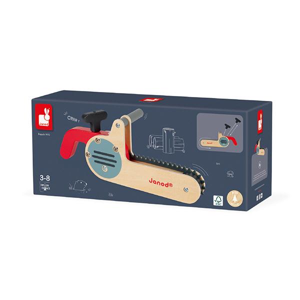【法國Janod】小木匠創意玩-電鋸
