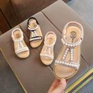 女童涼鞋 女童露趾涼鞋2020正韓 夏季兒童鞋女沙灘鞋子小女孩時尚公主鞋【快速出貨】
