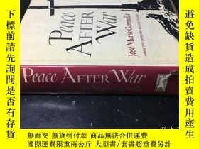 二手書博民逛書店Peace罕見after war by José María Gironella 外文原版 精裝毛邊書Y176