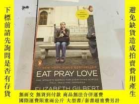 二手書博民逛書店英文原版:Eat罕見pray loveY182979 Eliza