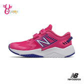 New Balance 中童 運動鞋慢跑鞋 HOOK AND LOOP RAVE RUN P8479#桃紅◆OSOME奧森鞋業