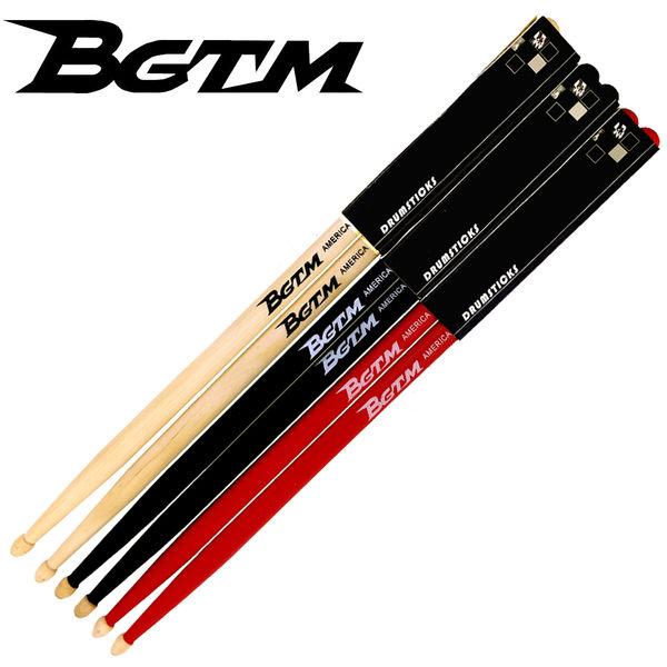 ★BGTM★嚴選AMERICA MAPLE-5A楓木鼓棒-3雙套裝組(加贈尼龍鼓棒一雙)