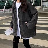 春秋季2020新款韓版百搭寬鬆牛仔外套女裝復古港味上衣學生初秋潮 探索先鋒
