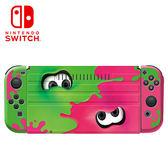 【NS Switch】任天堂 掀蓋式保護殼+手把保護組《漆彈2款》(CKS-003-1)