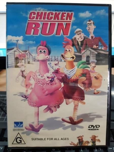 挖寶二手片-B01-180-正版DVD-動畫【落跑雞】-酷狗寶貝製作團隊(直購價)海報是影印
