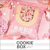 韓國 GS25 櫻花爆米花 70g 春季限定 餅乾 野餐 *餅乾盒子*