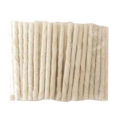【培菓平價寵物網】寵物愛吃《牛奶味脆笛酥牛皮捲5吋/50支》台灣製造,有保證