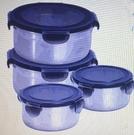 [COSCO代購] W131192 JVR 不鏽鋼保鮮盒含蓋8件組-圓形 470+ 1120毫升