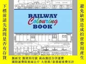 二手書博民逛書店Railway罕見Colouring Book-鐵路彩繪本Y414958 出版2020