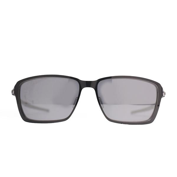 OAKLEY 太陽眼鏡 TINCAN POLISHED 亮方黑 #16 極致輕 (布魯克林) OAKOO408203