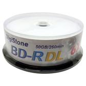 ◆免運費◆DigiStone 國際版 A+ 藍光 Blu-ray 6X BD-R DL 50GB(支援CPRM/BS)光碟燒錄片 X 25P布丁桶