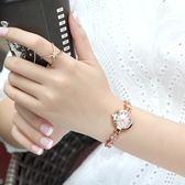 流行女錶手鍊錶女士手錶女防水時尚女生新品全館免運學生正韓簡約潮流休閒女錶wy