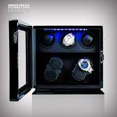 搖錶器自動機械手錶上鏈器 進口電動旋轉錶盒上弦器開蓋自停XW