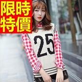 女款毛衣背心典型舒適-正韓羊毛保暖無袖女針織衫1色63aa67【巴黎精品】