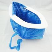年終大清倉旅行應急車用便攜式折疊微型方便馬桶男女通用移動車載兒童尿袋