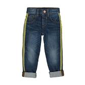 mothercare 藍滾黃邊刷白運動牛仔褲-單寧系列(M0TB334)3~7歲