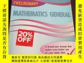 二手書博民逛書店EXCEL罕見PRELIMINARY MATHEMATICS G