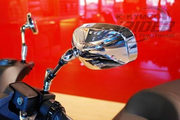 KYMCO光陽機車大型車款電鍍左右後視鏡(MYROAD、Nikita、Xciting、SHADOW 300、Venox)