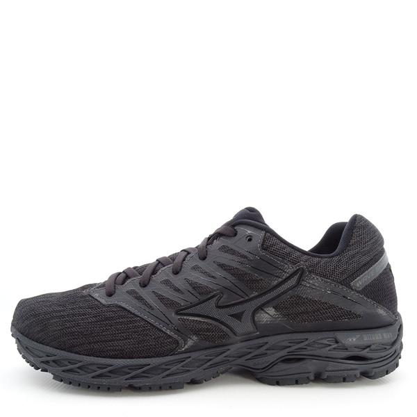 Mizuno Wave Shadow 2 [J1GC183051] 男鞋 運動 慢跑 休閒 避震 透氣 美津濃 黑灰