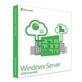 微軟 Windows Server Essentials 2019 64Bit 1pk DSP OEI DVD 1-2CPU 中文隨機版(不需CAL,內含25個上限)
