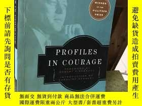 二手書博民逛書店罕見英文原版Profiles in Courage勇氣檔案 勇敢