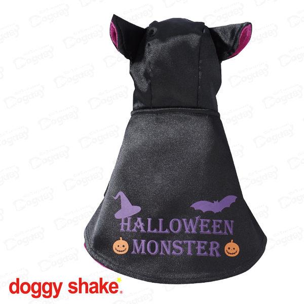 狗日子日本《Doggy Shake》吸血鬼斗篷 華麗絨棉舒適 寵物變裝 小惡魔 萬聖節