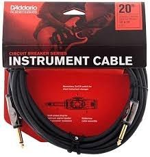 凱傑樂器 D'Addario  20 FT 開關式 電路斷路器 導線 公司貨